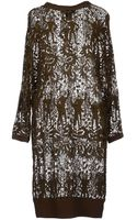 Isabel Marant Kneelength Dress - Lyst