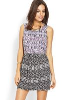 Forever 21 Abstract Bow Dress - Lyst