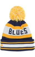 New Era Kids St Louis Blues Jacob Pom Knit Hat - Lyst