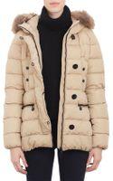 Moncler Furtrim Hood Belted Gene Puffer Jacket - Lyst