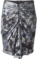Isabel Marant Fitted Skirt - Lyst