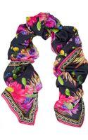 Matthew Williamson Cactus Garden Printed Silk Scarf - Lyst