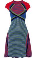 M Missoni Knitted Cotton Dress - Lyst
