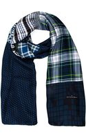 Pierre Louis Mascia Checked Lightweight Scarf - Lyst