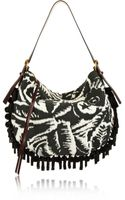 Marc Jacobs Nomad Embellished Terry-jacquard Shoulder Bag - Lyst