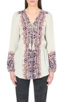 Free People Printed Gauze Tunic - Lyst