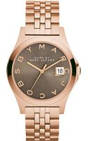 Marc By Marc Jacobs Womens The Slim Rose Goldtone Stainless Steel Bracelet Watch 36mm - Lyst
