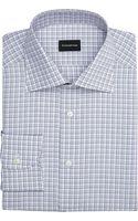 Ermenegildo Zegna Check Shirt - Lyst