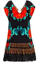 Athena Procopiou Athenas Gypset Floral-print Silk Dress - Lyst