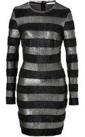 Matthew Williamson Striped Knit Dress - Lyst
