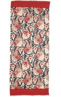Tory Burch Bird Of Paradise Scarf - Lyst