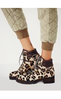 Free People Leopard Icon Hiker Boot - Lyst