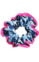 Marc By Marc Jacobs Aki Flower Chou Chou Scrunchie Knockout Pink Multi - Lyst