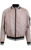 MSGM Padded Flight Bomber Jacket - Lyst