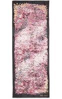 Jimmy Choo Abstract Animalprint Satin Stole - Lyst