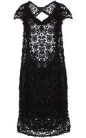 Bolongaro Trevor Cotton Lace Short Dress - Lyst