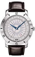Tissot Heritage Navigator Stainless Steel Leather Watch - Lyst