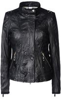 High Leather Outerwear - Lyst