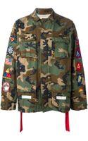 Off-white Field Navajo Jacket - Lyst