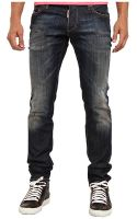 DSquared2 Black Wash Slim Jean - Lyst