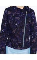See By Chloé Floral Denim Collarless Jacket - Lyst