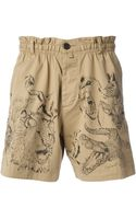 DSquared2 Printed Animals Shorts - Lyst