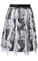 Prabal Gurung Embellished Skirt - Lyst