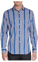 Robert Graham Regular-fit Striped Gingham Sportshirt - Lyst