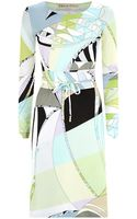 Emilio Pucci Astana Marilyn Dress - Lyst