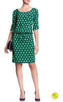 Banana Republic Factory Print Dress  Cool Combo - Lyst