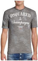 DSquared2 Champagne Tshirt - Lyst