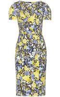 Erdem Joyce Printed Dress - Lyst