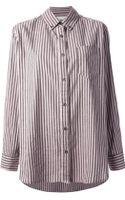 Etoile Isabel Marant Striped Shirt - Lyst