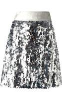 Dolce & Gabbana Sequin Embellished Skirt - Lyst