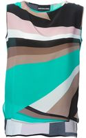 Marco Bologna Abstract Print Top - Lyst
