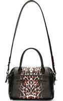 McQ by Alexander McQueen Black Leopard The Yt Duffle Bag - Lyst