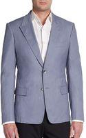 Dolce & Gabbana Denim Blazer - Lyst