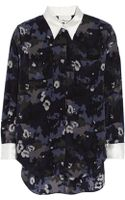 3.1 Phillip Lim Printed Silk Blouse - Lyst
