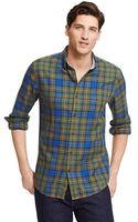 Tommy Hilfiger Custom Fit Tartan Shirt - Lyst