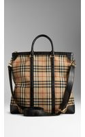 Burberry Horseferry Check Alligator Tote Bag - Lyst