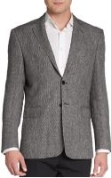 Saint Laurent Regular-fit Tweed Wool Sportcoat - Lyst