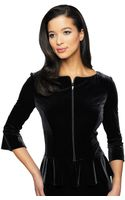 Alex Evenings Ruffle Peplum Hem Jacket - Lyst