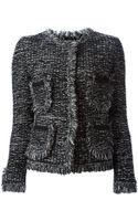 Charlott Woven Pockets Tweed Jacket - Lyst