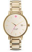 Kate Spade Gramercy Grand Bracelet Watch 38mm - Lyst