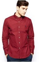 Polo Ralph Lauren Check Shirt in Slim Fit - Lyst