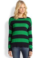 Michael by Michael Kors Striped Hilo Sweater - Lyst