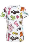 Moschino Paper Doll T-shirt - Lyst