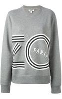 Kenzo Logo Print Sweatshirt - Lyst