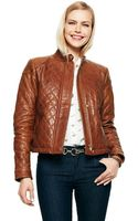 C. Wonder Quilted Leather Jacket - Lyst