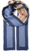Burberry London Haymarket Check Scarf - Lyst